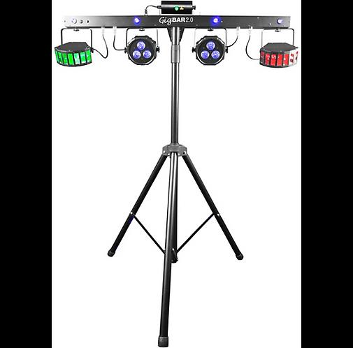 CHAUVET DJ : GigBAR 2 LED and Laser Lighting System