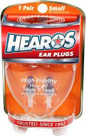 Ear Plugs Hi Fi Long Wear 1Pair : Hearos