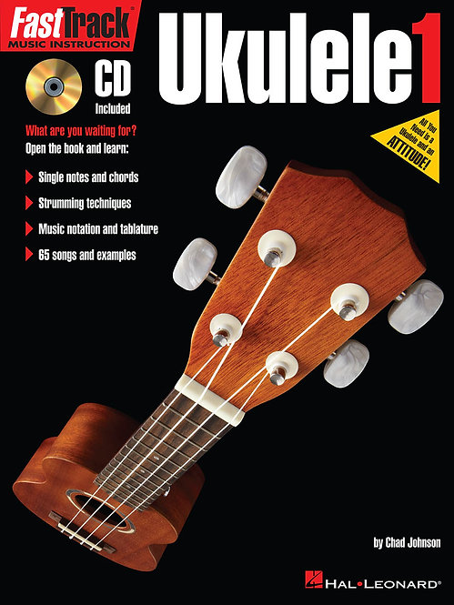 Hal Leonard: FastTrack Ukulele Method - Book 1