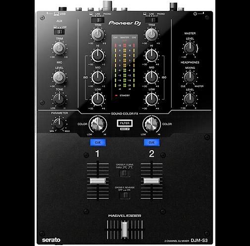 Pioneer : DJM-S3 2-channel Serato DJ Battle Mixer