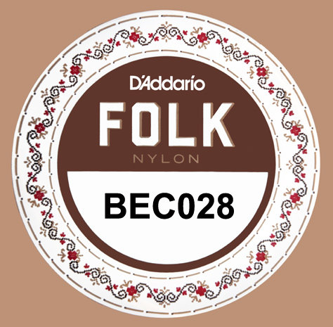 D'addario : Nylon 1st String .028 Gauge