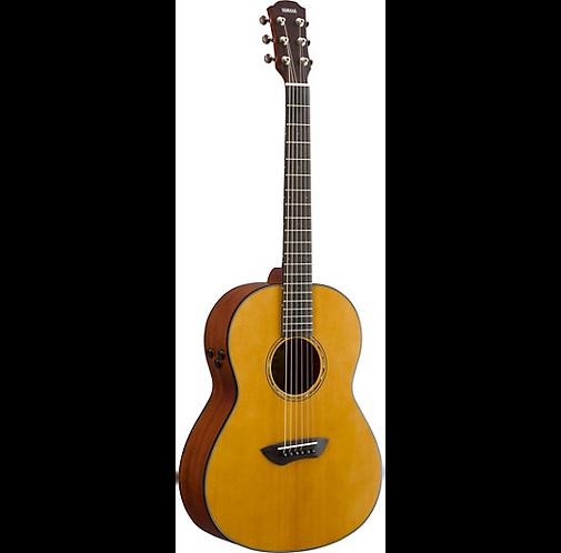 CSF-TA TransAcoustic Parlor Acoustic-Electric Guitar - Yamaha