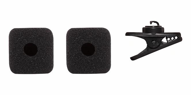 Shure : SM-31 RK379 Original Replacement Black 2-Pak Windscreens + 1 Cl