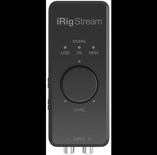 IK Media : iRig Stream iOS Audio Interfaces