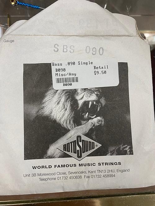 B090 Bass .090 Single String : MISC