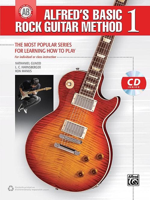Alfred's Basic Rock Guitar Method 1 (Book + CD)