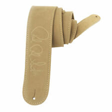 Fender : Tan Suede Leather Guitar Strap