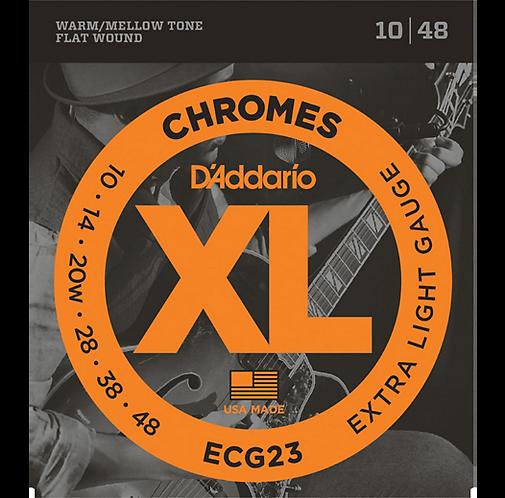 D'Addario : Chrome Extra Light Flatwound