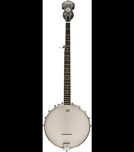 B7-A Americana Banjo Open Back - Natural - Washburn