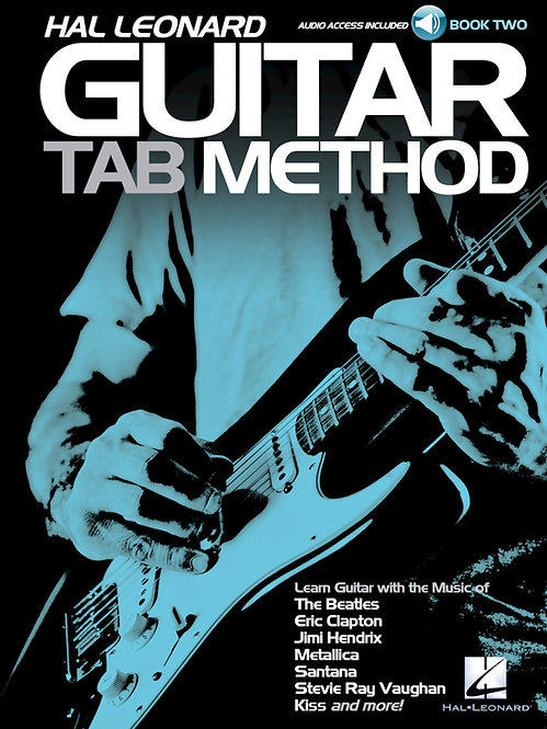 Hal Leonard : Guitar Tab Method (Book 2) (Book + Online Audio)