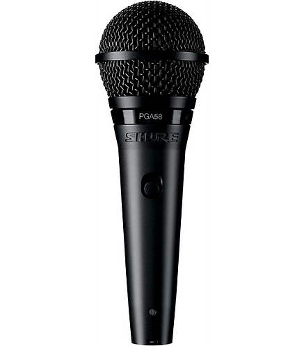 PGA58-QTR Cardioid Dynamic Vocal Microphone : Shure