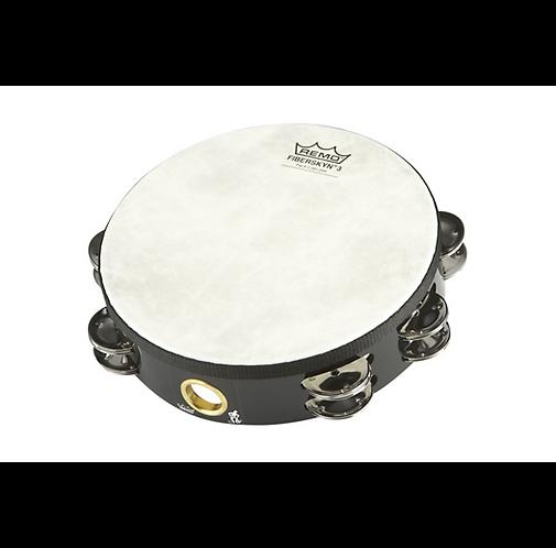 """Remo : Fixed-Head Tambourine  Black 8"""""""