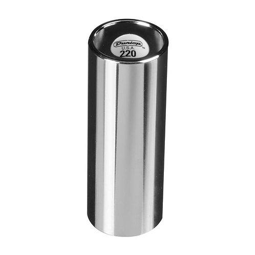 220 Chromed Steel Slide - Medium - Regular Wall Thickness : Dunlop