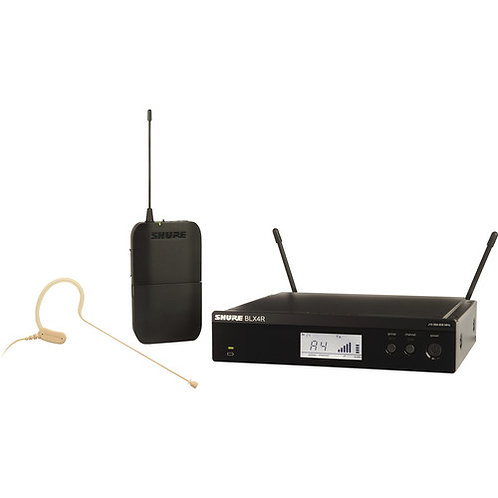 BLX14R/MX53 Wireless Rack-mount Presenter System with MX153 Earset Mic : Shure