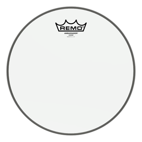 Remo : Ambassador Clear Drumhead - 12""
