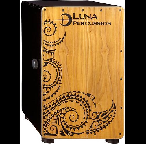 LPC-BLK Black Cajon with Bag : Luna