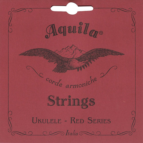 Aquila : SINGLE Soprano Low G RED