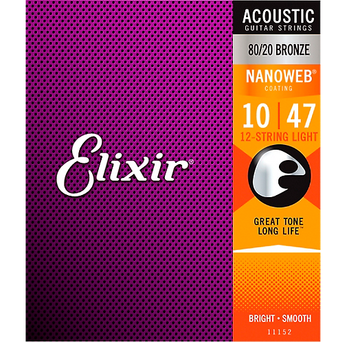 Elixir : 80/20 Bronze 12-String Acoustic