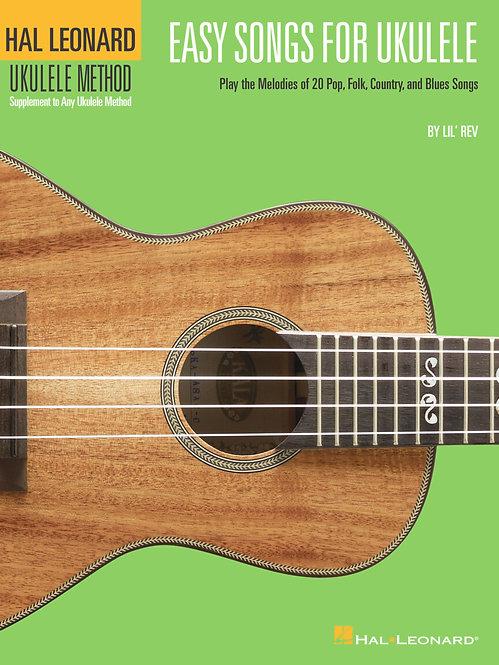 Easy Songs for Ukulele : Hal Leonard