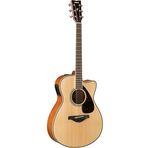 FSX820C Small Body Acoustic-Electric Guitar - Natural - Yamaha