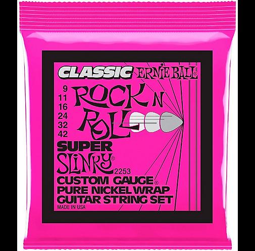 Ernie Ball : 2253 Super Slinky Pure Nickel