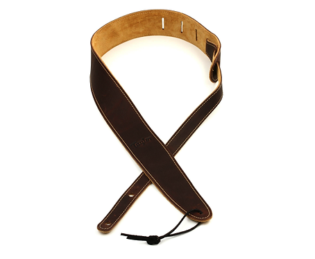 """Leather 2.5"""" Guitar Strap - Chocolate Brown  TL250-05  - Taylor"""