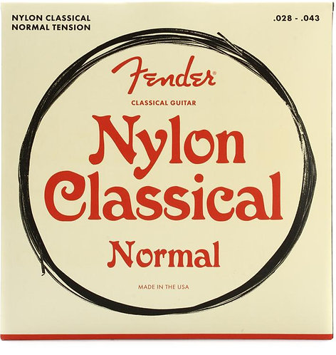 Fender : Clear Nylon Classical Strings