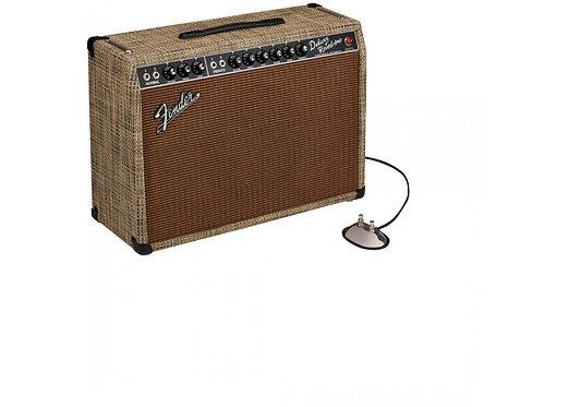 Fender : Ltd Ed '65 Deluxe Reverb Chilewich Bark