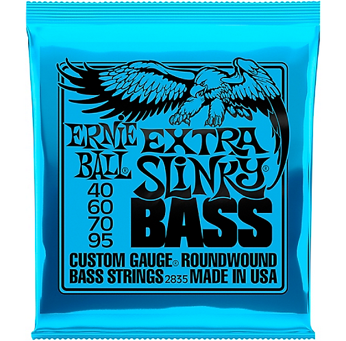 Ernie Ball : Extra Slinky Round Wound Bass Strings