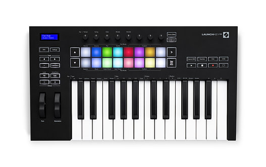 Launchkey 25-key MIDI Controller : Novation