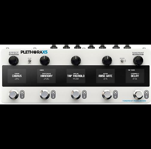 TC Electronic : Plethora X5 Multi-Effects Pedal