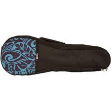 Kala : Blue Pattern Soprano Gig Bag
