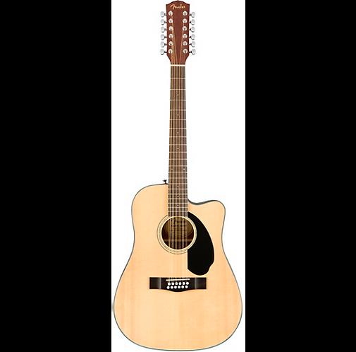 12 String Deadnought Acoustic : Fender