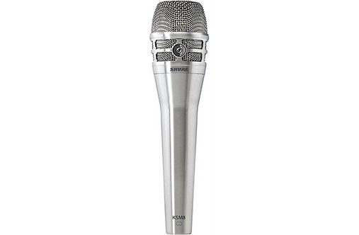 KSM8 Dualdyne Cardioid Dynamic Vocal Microphone - Nickle :  Shure