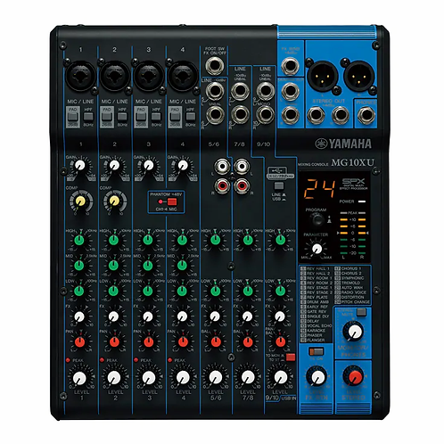 MG10XU 10-Channel Mixing Console - Yamaha