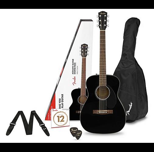 CD-60S Concert Acoustic Guitar Pack - Fender