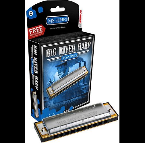 590 Big River MS-Series Harmonica  F : Hohner