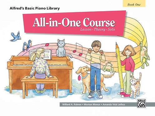 Basic All-in-One Course, Book 1 : Alfred