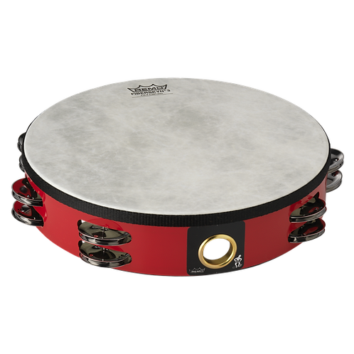 Remo :  FIBERSKYN TAMBOURINE RED