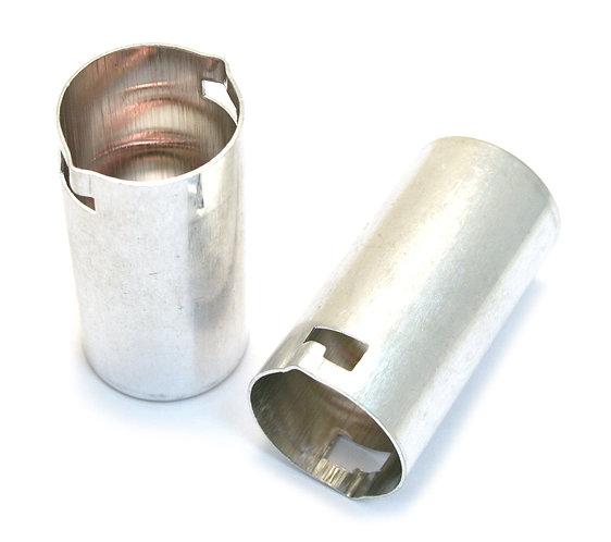 Tube Shields - Metal Pair - Fender