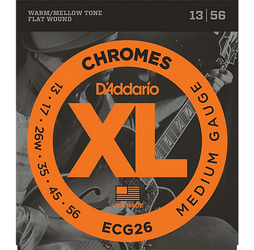 ECG26 Chromes - Medium - D'addario