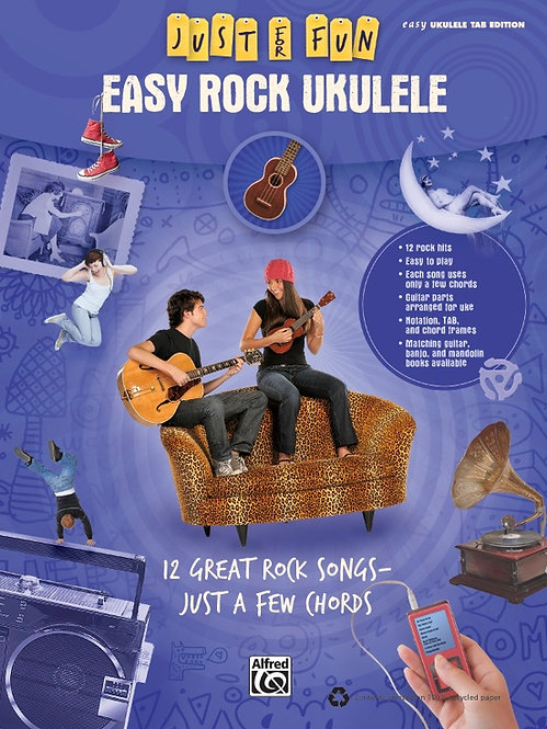 Alfred : Just for Fun: Easy Rock Ukulele