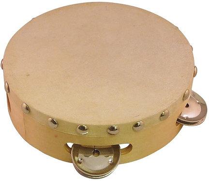 KT-100 6-Inch Tambourine with Head - Suzuki