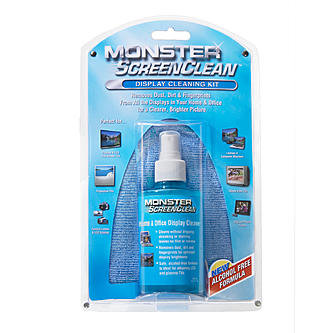 Monster Cable : ScreenClean TV Cleaning Kit