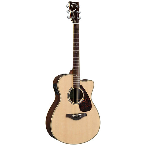 Yamaha : FSX830C Acoustic-Electric Guitar - Natural