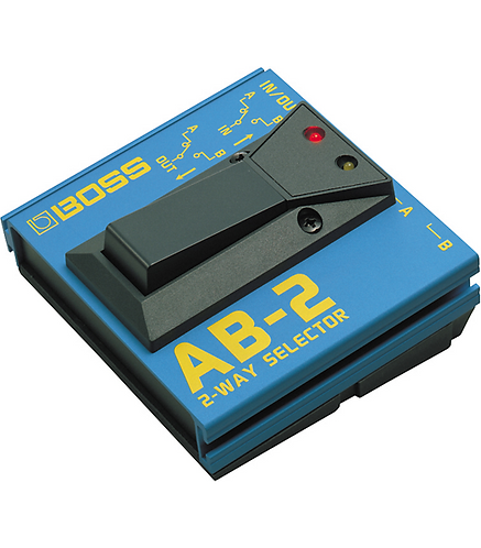 BOSS : AB-2 2-Way Selector Pedal