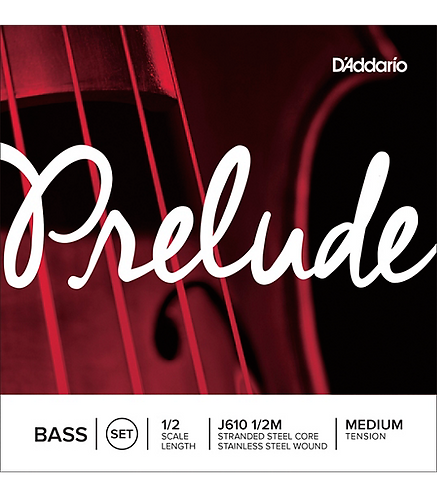 Prelude Series Double Bass String Set  1/2 Size - D'addario