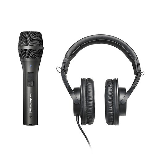 Audio-Technica : Working and Learning from Home Bundle with AT2005USB M