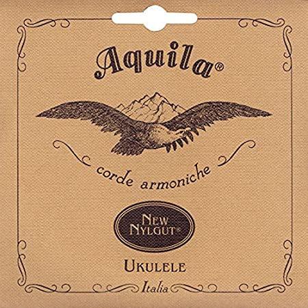 Aquila : Nylgut Baritone Ukulele String Set - GCEA - High G Tuning