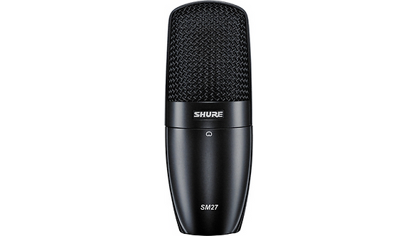 SM27 Professional Large Diaphragm Condenser Microphone : Shure